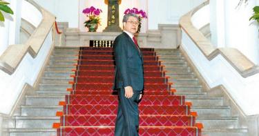 李登輝鼓勵楊烈演總統「要認真」 幽默喊話羅時豐靠他賺錢「要請客」