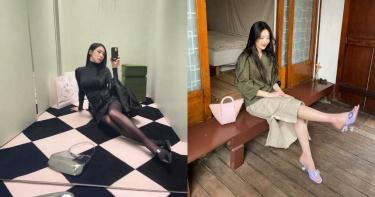 穿搭前段班:穿上一隻貓!潤娥、Tiffany、Red Velvet Joy 都換上的「小貓跟鞋」這樣搭