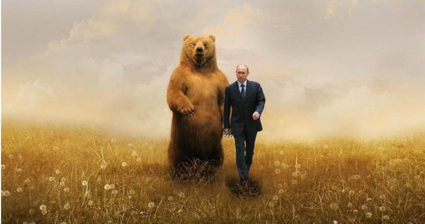 俄羅斯政府歡慶總統普丁生日 曬「與棕熊行走」照共度69歲