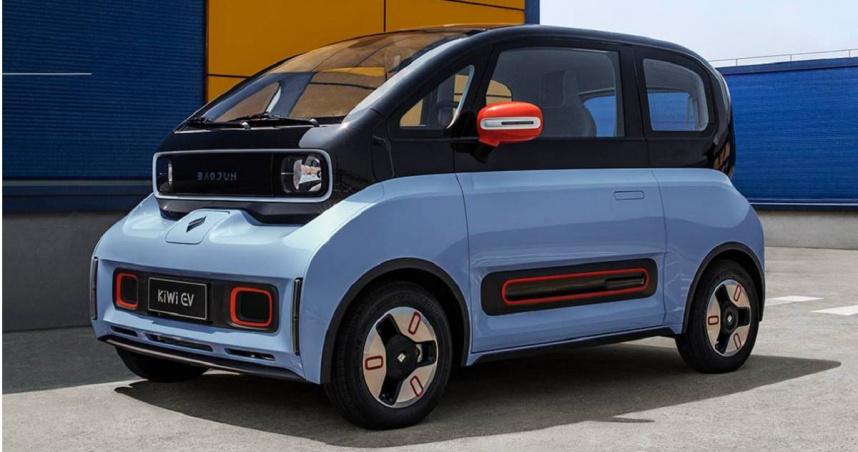 成都車展驚見「瓦力」電動車 售價不到台幣30萬元