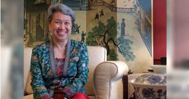 感謝台灣!星總理夫人修改貼文 不是第一次說「呃…」