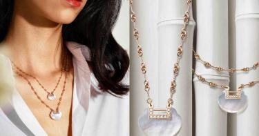 為經典珠寶譜上清新寫意!Qeelin「Yu Yi」珍珠母貝如意鎖 締結浪漫幸福良緣