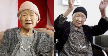全球最長壽老奶奶!田中加子「超愛巧克力」 樂迎118歲生日
