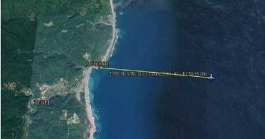 F-5E墜海/F-5E戰機屏東外海相撞墜落 2飛官跳傘海巡搜救中