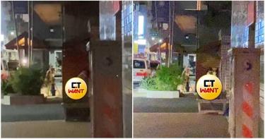 新竹情侶街頭「騎乘式擺盪」!肉色閃瞎路人 影片流出網看傻:對面警局欸