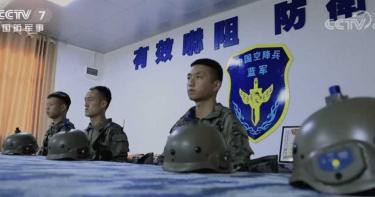 共軍演習 指揮室驚見台灣「8字標語」