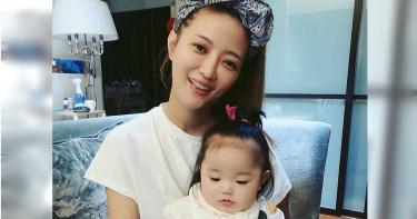 被譽為「嬰兒界林志玲」 黃美珍生日帶女兒會粉絲