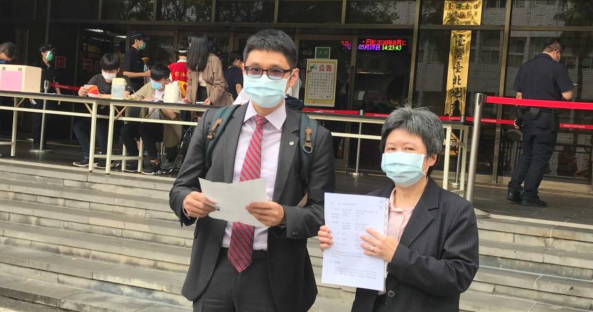 東元選戰「甩兒子身分,明算帳」 黃育仁、元大證董座都被菱光提告了
