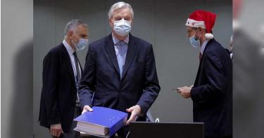 脫歐協議厚達1246頁 歐盟官員預計從聖誕節一路加班到跨年