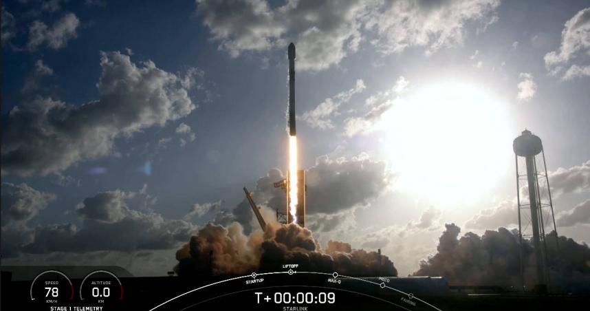 低軌衛星通訊將成真 Starlink六個月內再發射1,260顆衛星