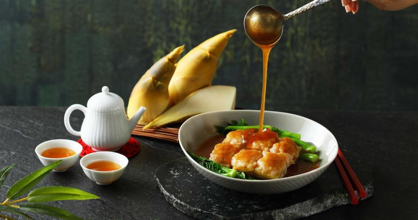 新北冠軍綠竹筍入菜 冷盤、熱菜都是鮮脆好滋味