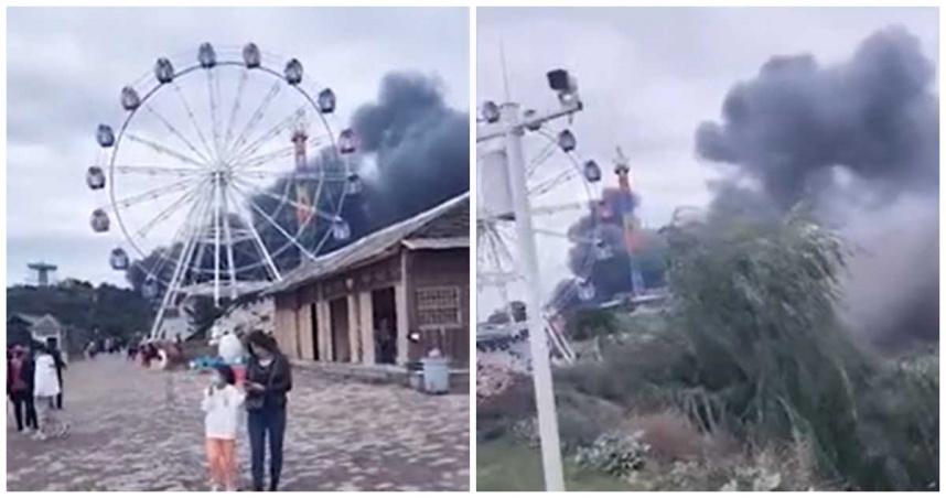 影/連假第一天!遊樂園大火13死15傷 業者:明天恢復營業