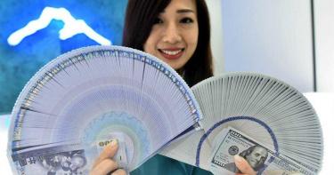 連7日衝破台幣防線 楊金龍:28元成短期常態