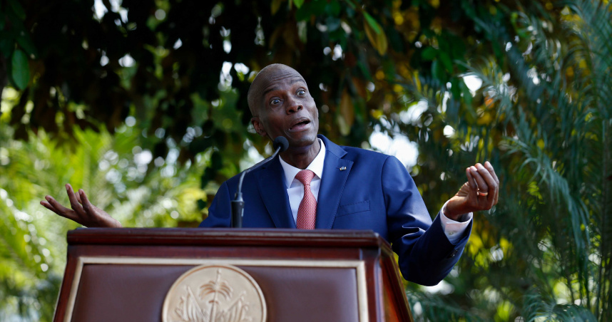 海地總統摩依士驚傳「私宅內遭暗殺」!總理證實:兇手是「外國份子武裝突擊隊」