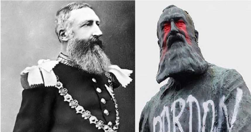 全球反歧視!比利時前國王像被潑漆 揭利奧波德二世「屠殺剛果」黑歷史