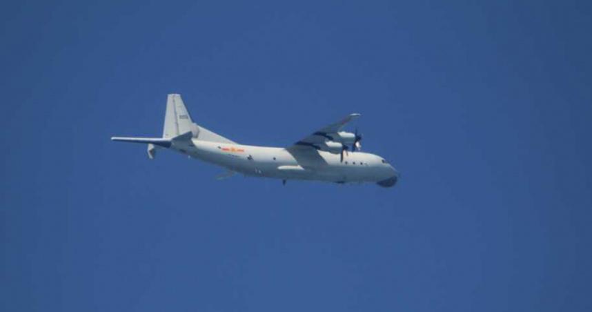 共機第18度擾台!運8反潛機侵入西南空域 遭我空軍廣播驅離