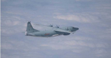 2共機又擾台!國防部證實進入我西南空域 防空飛彈追蹤監控