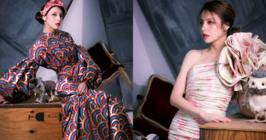 跨年乖乖待在家好好PARTY!韓國藝人們都穿上的超強禮服,今年最強復古華麗小禮服就是這幾套!