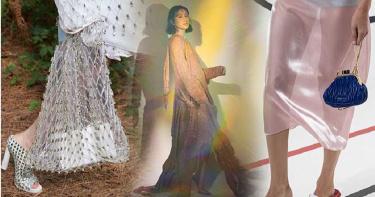 讓人不敢嘗試的「金屬潮」再回歸 時尚新手建議從「微浮誇緞面」開始入手
