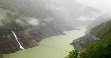雷雨狂炸中台灣!德基水庫水位反降15cm 原因曝光