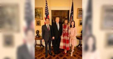 甜伴郭董出席白宮耶誕派對 曾馨瑩親吐10年「婆媳關係」