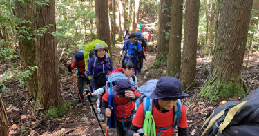 帶著北勢群泰雅族的孩子 回到祖靈的起源地「聖山」大霸尖山