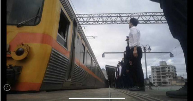 「淳修下班了!」送行列車抵「樹林站」 同事淚崩不捨