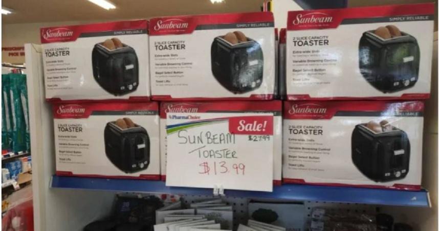 網購按錯下訂數量 女見「222台」烤麵包機到貨傻眼