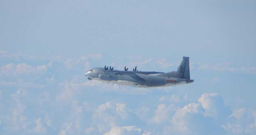 解放軍機再度闖入西南空域 3日內遭我國空軍5度驅離