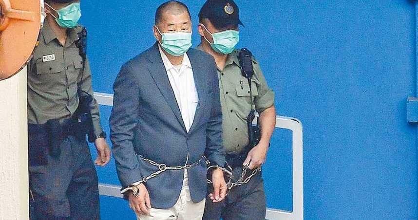 非法集結加上非法遊行 三案判決黎智英服刑20個月