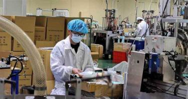 產線遭強徵「口罩送出國」 工業口罩庫存不足…想送都沒得送