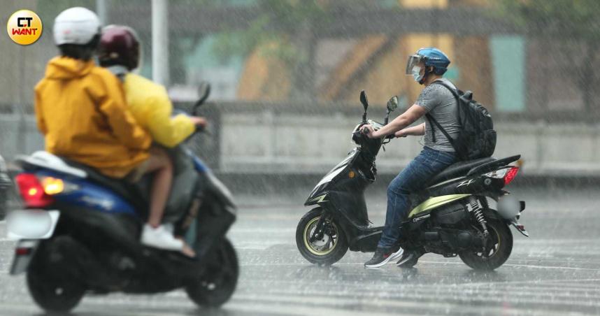 滯留鋒雨彈來了! 全台15縣市大雨特報