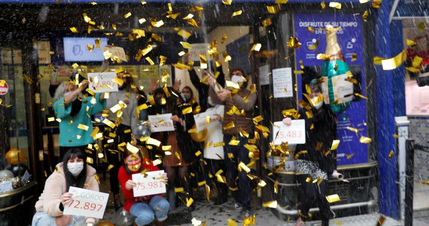 全球知名彩券開獎 西班牙「胖子樂透」總彩金高達826億元