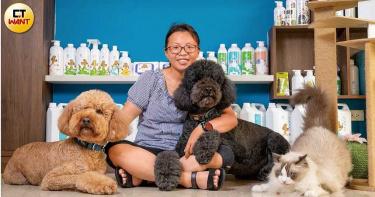 顧毛孩賺近億2/愛犬體味遭鄰居嫌棄 上網找除臭配方
