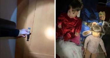 女子開新家密室驚見四肢殘缺「詭異娃娃」 網嚇瘋:眼睛最後一直看鏡頭