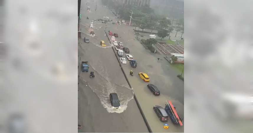 北北基大雷雨警報!北市府宣布:開放全市路邊紅黃線停車到7日