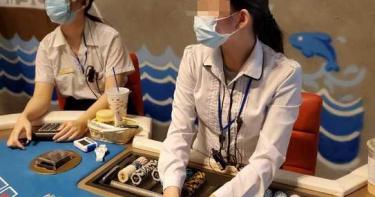 竹北假餐廳掩護真賭場 「胸狠荷官」吸賭客