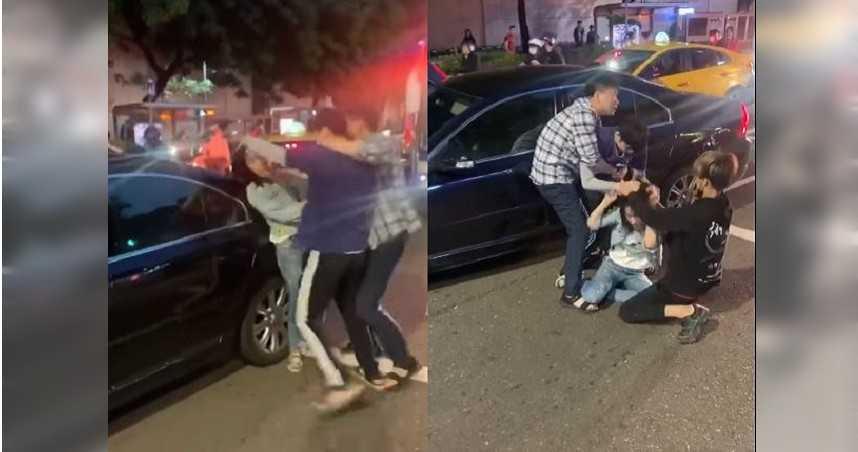 男子「馬路施暴」抓女撞車門 跳針狂喊:跟我道歉