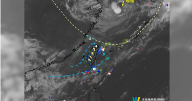 超罕見!大台北深夜竟下「午夜雷陣雨」 關鍵原因曝光