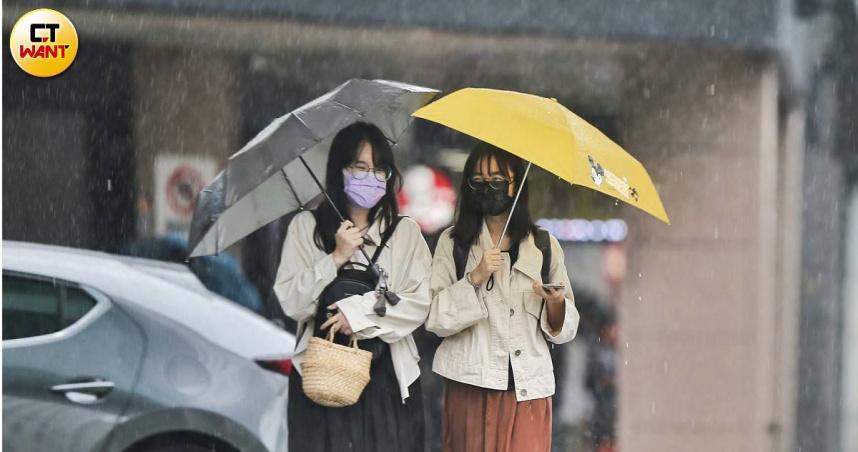 快訊/5縣市大雨特報!午後對流旺 小心雷擊+強風