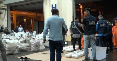 巴基斯坦來台可疑貨櫃無人提領 暗藏185公斤K毒