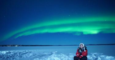 女星花16萬芬蘭追極光 天天冰雪奇緣「Let it go」