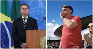 巴西總統不戴口罩!集會上「瘋狂咳嗽」 數百民眾變群聚溫床