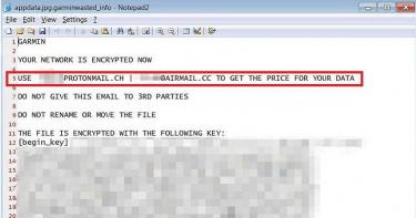Garmin被綁3/Wasted Locker從歐洲入侵 知情人士:非直接付贖金