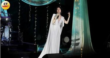 坣娜出道35年首辦演唱會 百億身家老公放閃:坣娜當我的太太就是愛