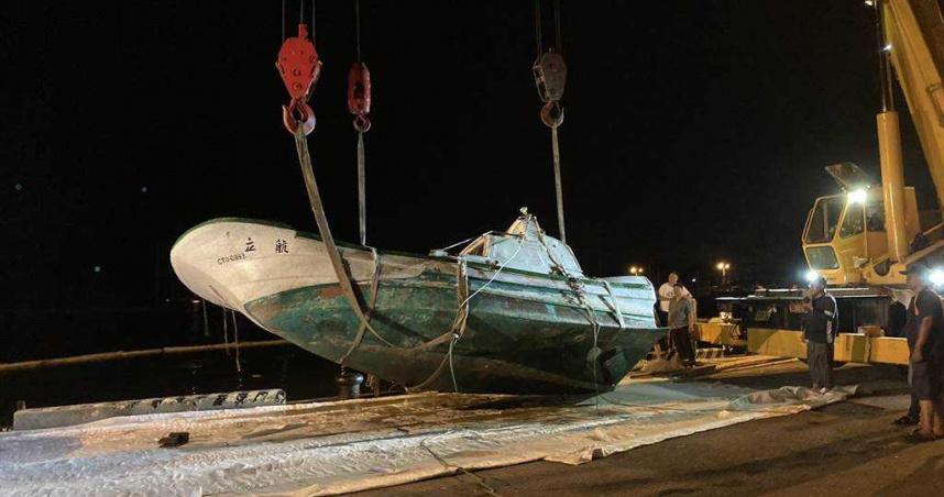 海巡聞到濃濃油味見油汙 漁船離奇消失竟是沉沒了