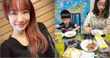 6歲弟弟吼哭14歲姐姐 蕭彤雯「分頭教育法」網讚爆