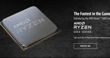 速度當世最快!AMD發布Zen 3 5000 系列桌上型處理器