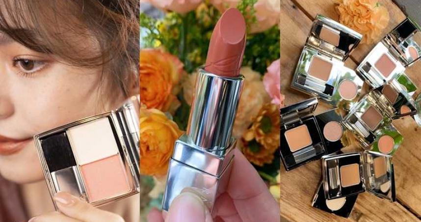 走氣質系路線的妳一定要收!RMK 2021春妝眼唇頰全都是百搭優雅棕,實在美得太有質感了~~~