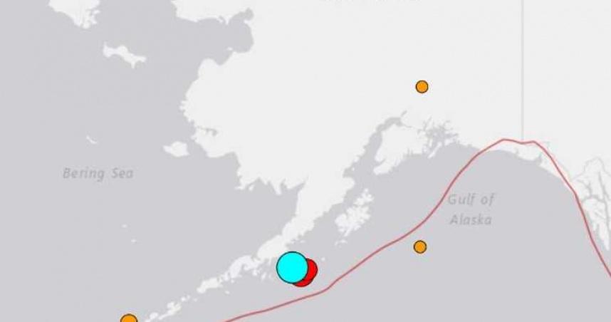 美國阿拉斯加發生規模8.2地震!關島及北馬利安納群島發海嘯警報